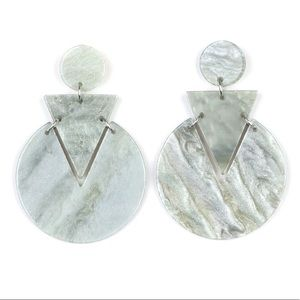 Jewelry - Head Under WATERCOLORS - Multi Acrylic Earrings